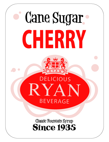 Cane Sugar, Cane Sugar Sodas, Cane Sugar Fountain Syrups, Cherry Fountain Syrup