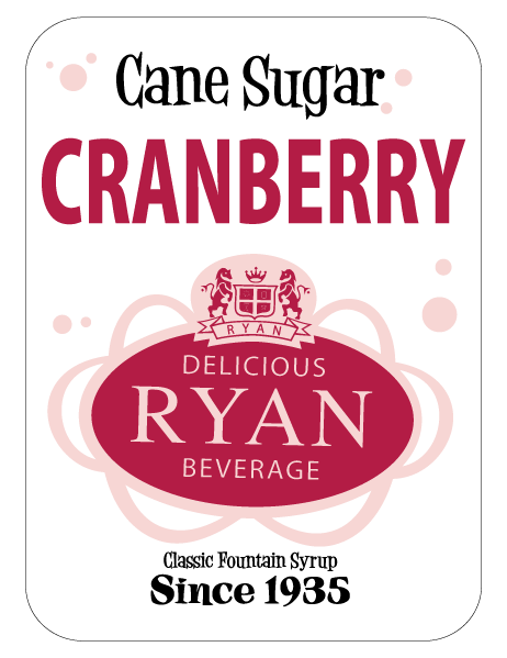 Cane Sugar, Cane Sugar Sodas, Cane Sugar Fountain Syrups, Cranberry Fountain Syrup