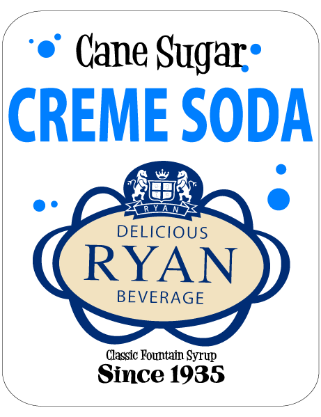 Cane Sugar, Cane Sugar Sodas, Cane Sugar Fountain Syrups, Creme Soda Fountain Syrup