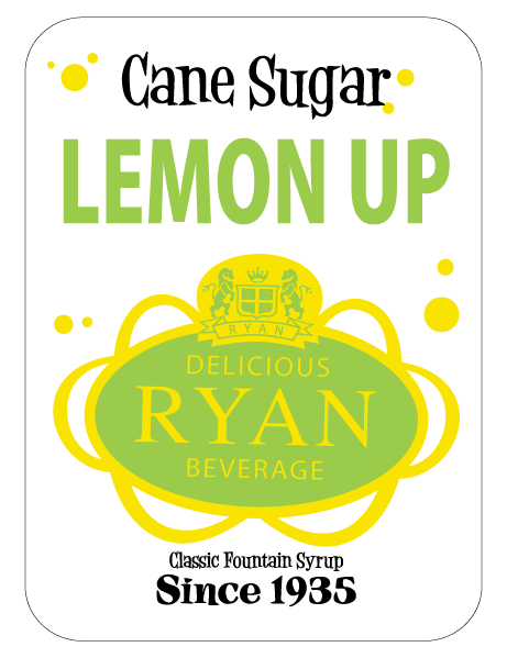 Cane Sugar, Cane Sugar Sodas, Cane Sugar Fountain Syrups, Lemon Up Fountain Syrup